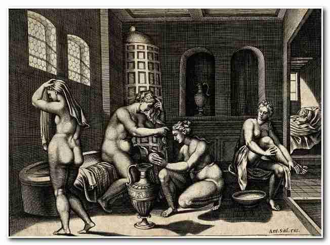 История бани от Древнего Рима