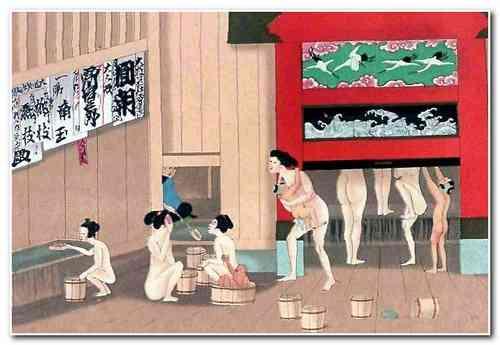 Японская баня офуро и сэнто
