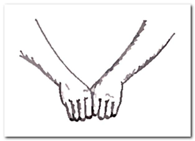 Растирание кулаками