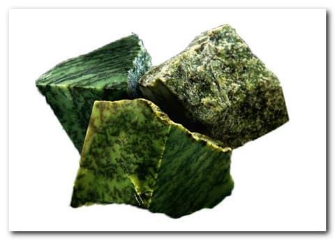Камни для бани – нефрит