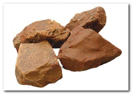 Камни для бани – яшма сургучная