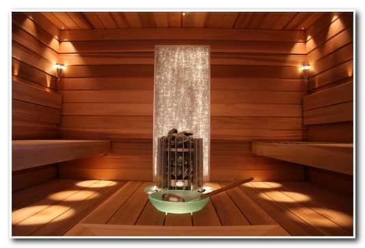 Оптоволоконное освещение и финская сауна