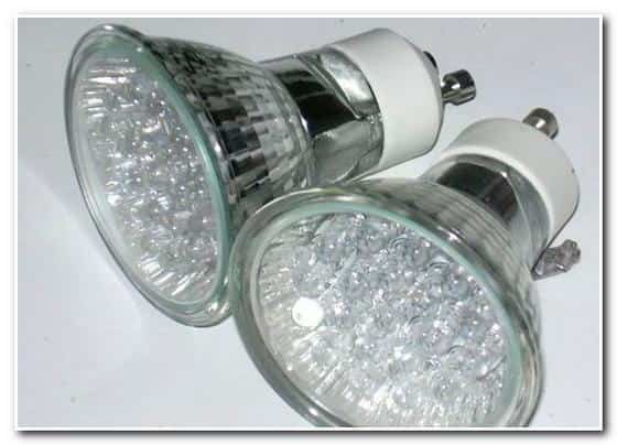 Освещение в бане – светодиодные лампы