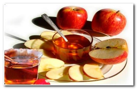 Яблочный квас в бане