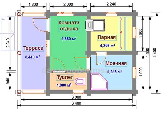 Русская баня – планировка, выбор и проектирование