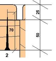 Пример 2 крепежа полков