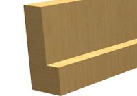 Стояка коробки банной двери