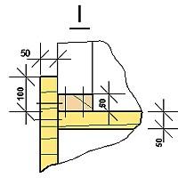 Схема крепления опалубки в углах
