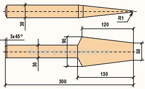 Конопатка сруба - инструмент