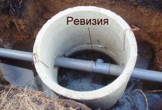 Отвод канализации - ревизии