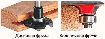 Лавки для бани - способы фрезерования