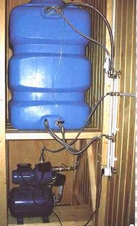 Монтаж водопровода своими руками - бак для воды