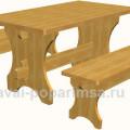 Как сделать стол - общий вид
