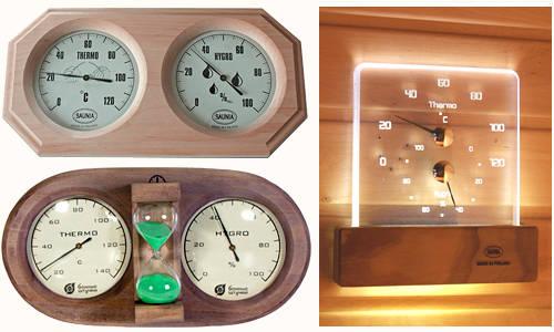 Контрольно-измерительные приборы для бани