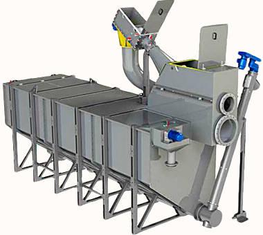 Метод очистки сточных вод - механическая песколовка