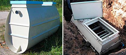 Покупная установка для очистки сточных вод