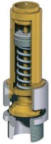 Предохранительный клапан для бака с горячей водой